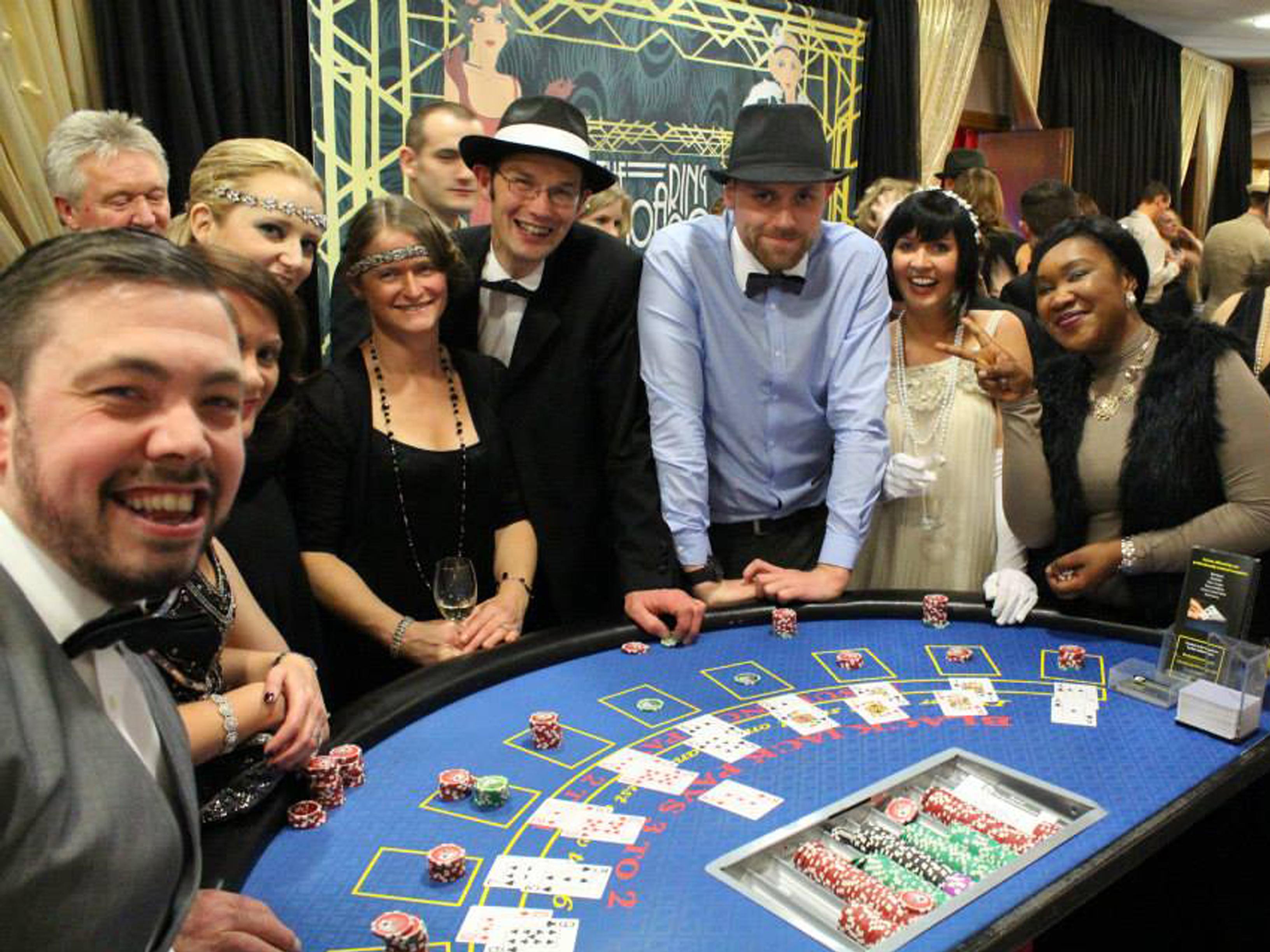 Casino night wrexham